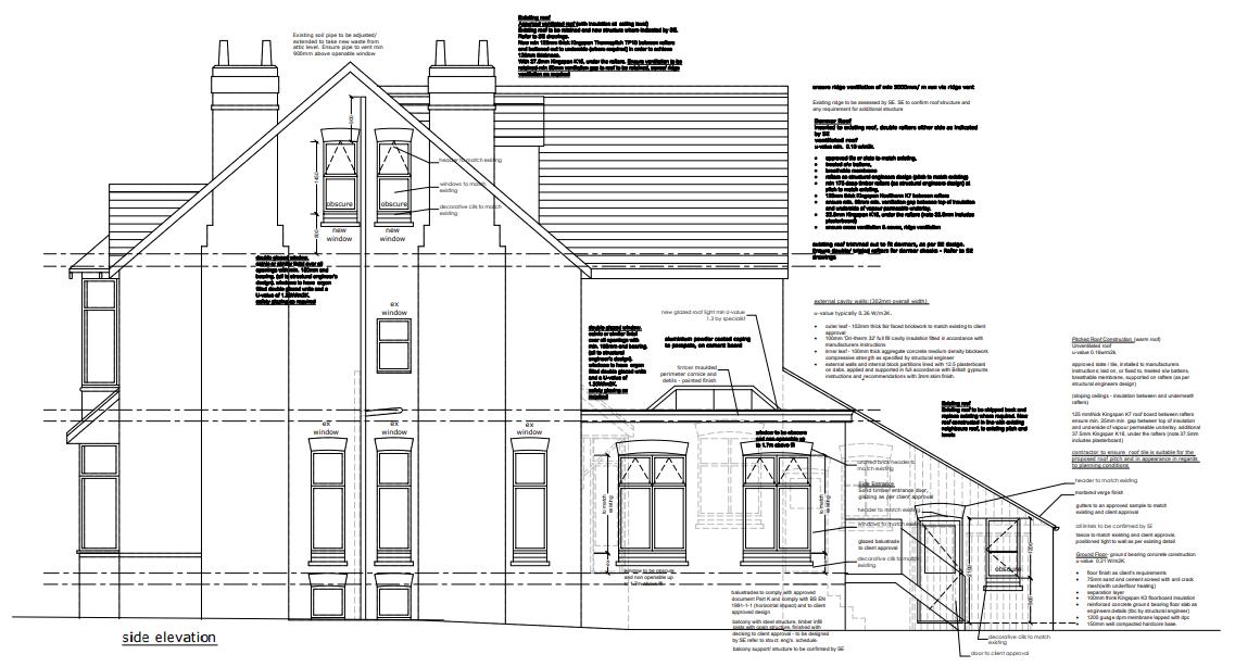 Hale Conversion and Refurbishment Project Side