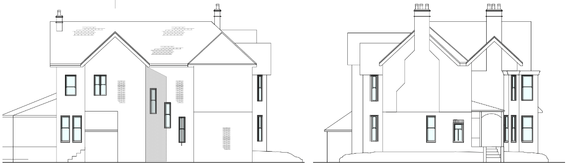 Hale Existing Side and Front Project