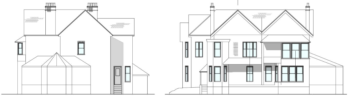 Hale Existing Side and Rear Project